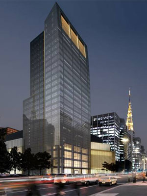 Desenho de torre que será construída na Av. Paulista (Foto: Divulgação)