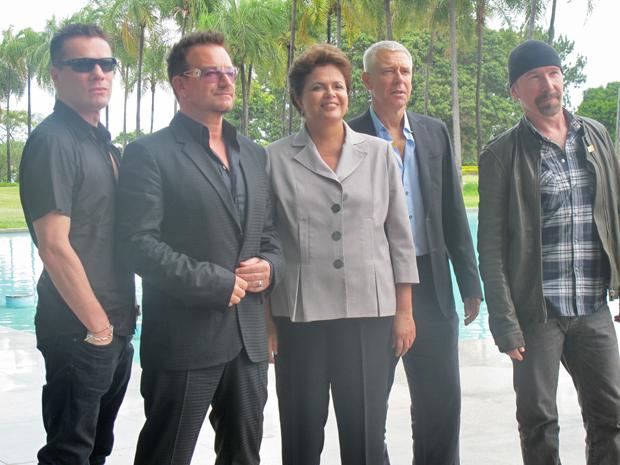 Dilma (Foto: Débora Santos/ G1)