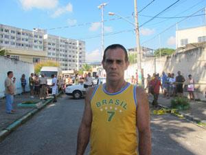 porteiro ajudou em escola (Foto: Tahiane Stochero)