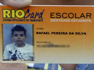 Rafael Pereira da Silva (Foto: Fernando Quevedo/Ag. O Globo)