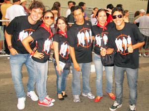 Família vei de Brasília e trouxe até o genro (Foto: Marcelo Mora/G1)