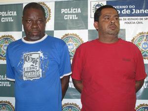 Suspeitos de negociar arma com Wellington (Foto: Carolina Lauriano/G1)