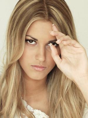 A modelo Jennifer Viturino em foto de álbum de família (Foto: Álbum de família)