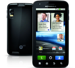Smartphone Atrix, da Motorola (Foto: Divulga&#231;&#227;o)