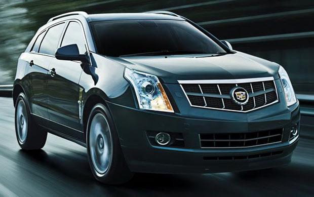 Cadillac SRX vai ter motor 3.6 na versão 2012 (Foto: Divulgação/General Motors)