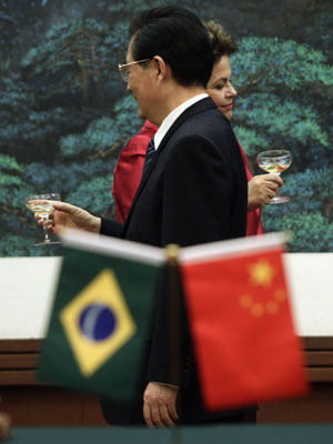 Dilma china (Foto: Reuters)