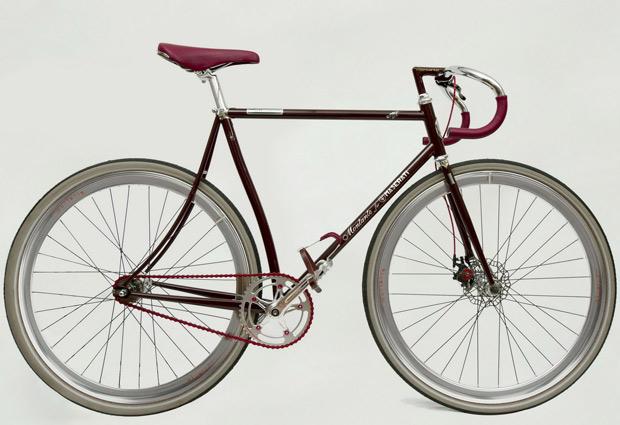Bicicleta 8CTF surgiu da parceria da Maserati com a Montante Cicli   (Foto: Divulgação)