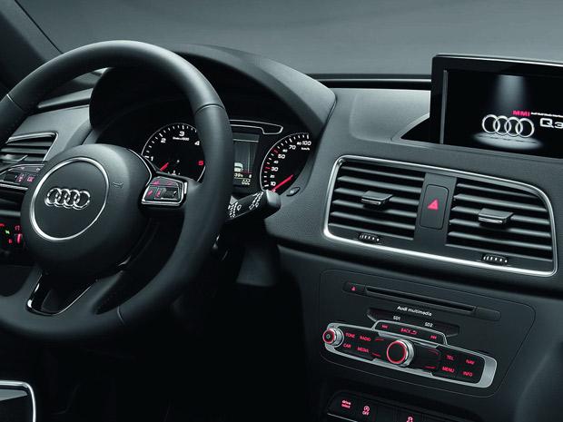 Audi Q3 foi desenvolvido sobre a plataforma do Volkswagen Tiguan (Foto: Divulgação)