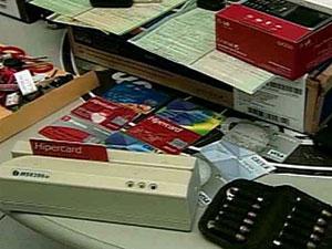 Clonagem de cartões Paraíba (Foto: Reprodução/TV Globo)