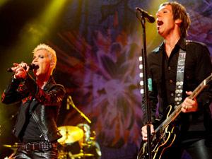 Show da banda sueca Roxette (Foto: Flavio Moraes/G1)