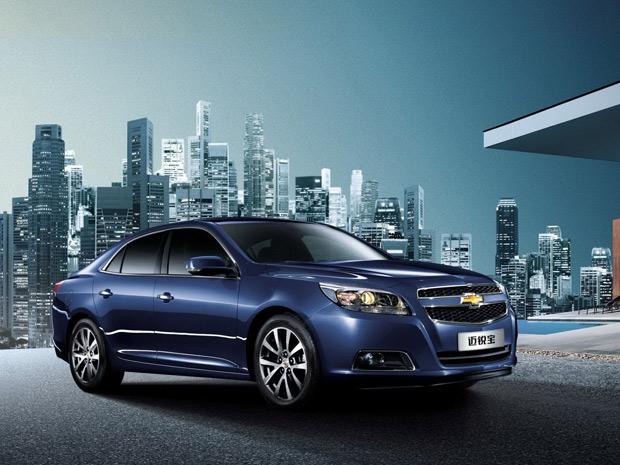 Nova geração do Chevrolet Malibu será apresentada na China (Foto: Divulgação)