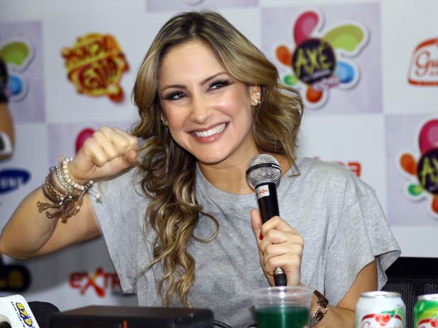 Claudia Leitte diz que adiou planos de segunda gravidez. (Foto: Maurício Vieira)