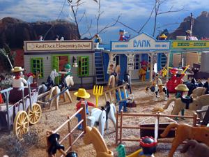 Coleção de playmobil  (Foto: Arquivo pessoal )