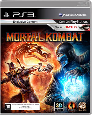 Capa de Mortal Kombat (Foto: Divulgação)