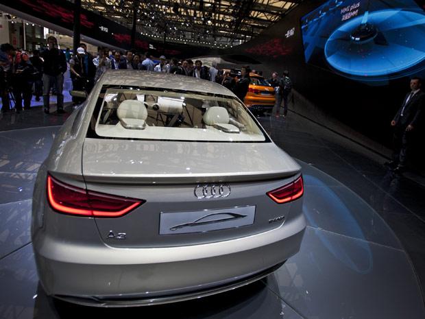 Audi A3 E-tron é um protótipo híbrido baseado no A3 Sedan (Foto: AP)