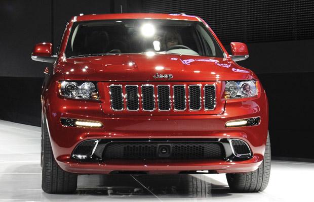 jeep grand cherokee srt8 (Foto: Divulgação/Chrysler)