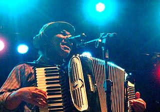 Dominguinhos durante apresentação em Campina Grande, em 2008 (Foto: Glauco Araújo/G1)