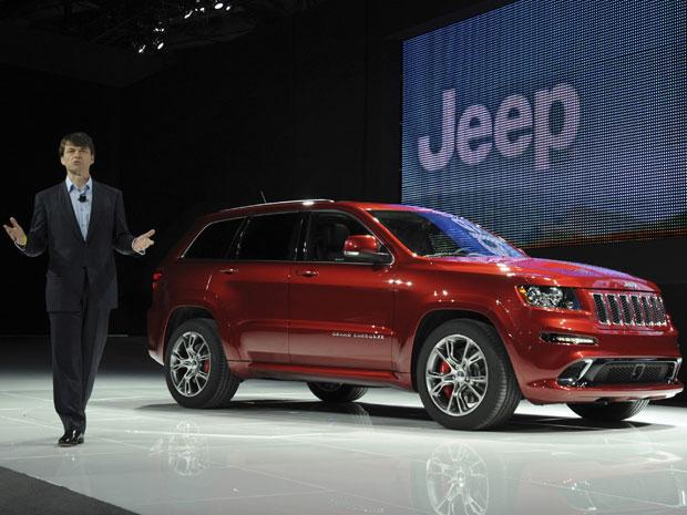 Grand Cherokee 2012 (Foto: Divulgação/Chrysler)