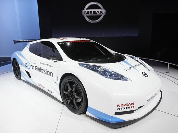 Nissan Leaf Nismo RC  (Foto: AP)