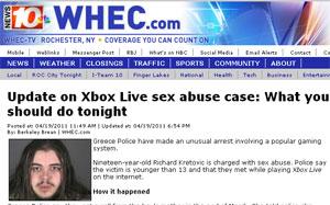 Polícia prende jovem que conheceu vítimas de abuso sexual no Xbox Live Untitled-2____