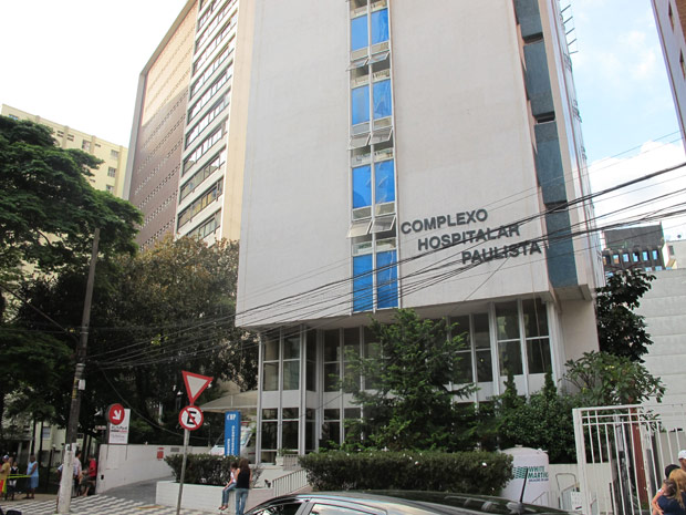 No total, 38 pacientes tiveram de deixar hospital na tarde deste sábado (Foto: Luciana Rossetto/G1)