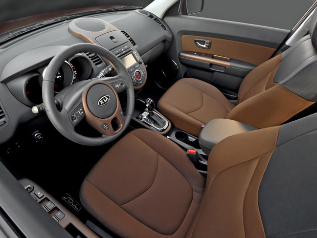 Interior do Kia Soul 2012
