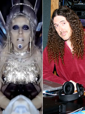 Weird Al Yankovic e Lady Gaga (Foto: Divulgação)