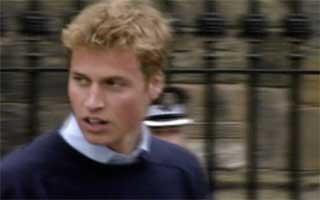 William causou alvoroço quando chegou à universidade (Foto: Rede Globo)