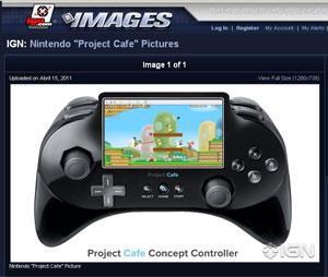Sucessor do Wii pode custar US$ 400 e terá controle com tela especial Untitled-1_