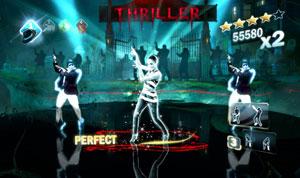 Jogador não usa controles em 'Michael Jackson: The Experience' (Foto: Divulgação)