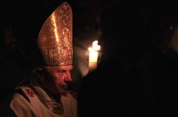 papa vigília pascal (Foto: Alessandro Bianchi /Reuters)