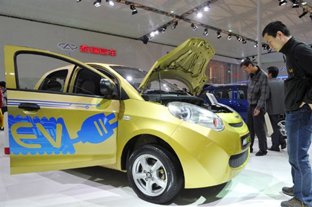 Chery el&#233;trico (Foto: AFP)