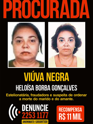 Quem tiver informações sobre a advogada foragida deve ligar para 2253-1177 (Foto: Divulgação / Disque-Denúncia)