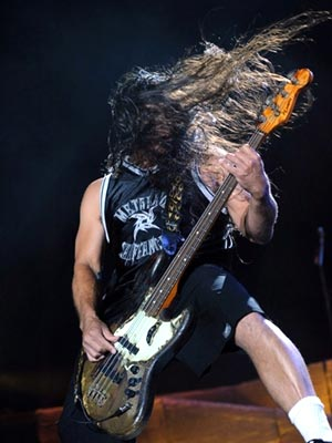 Robert Trujilo, baixista do Metallica (Foto: AFP)