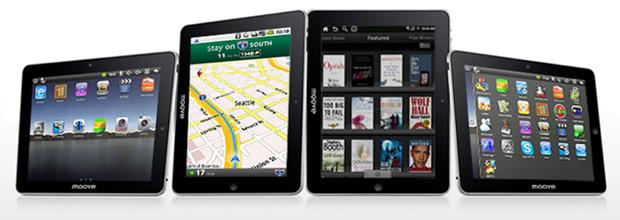Win Tablet Moove terá versões com 8 e 10,1 polegadas (Foto: Divulgação)
