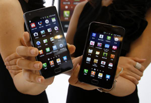 Samsung Galaxy S II (Foto: Truth Leem/Reuters)