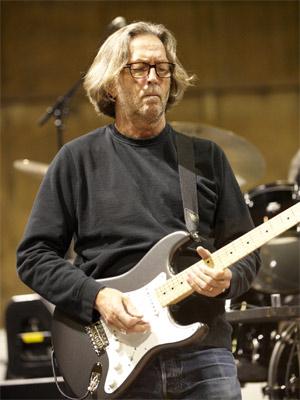 O guitarrista inglês Eric Clapton (Foto: Divulgação)