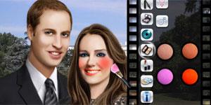 Game sobre o casamento real (Foto: Reprodução)