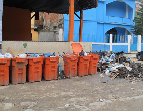 Lixo Alemão (Foto: Patrícia Kappen/G1)