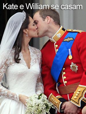 Após cerimônia em Westminster, casal se beija em público (Reprodução)