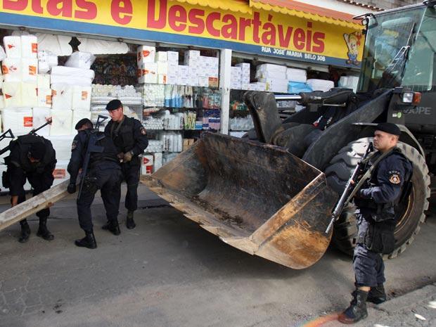Operação do Bope no Jacarezinho (Foto: Tasso Marcelo/AE)