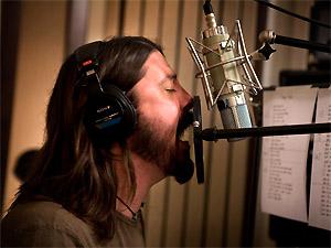 Dave Grohl em cena de 'Back and forth' (Foto: Divulgação)