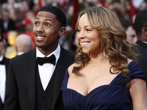 Nick Cannon e Mariah Carey (Foto: AP)
