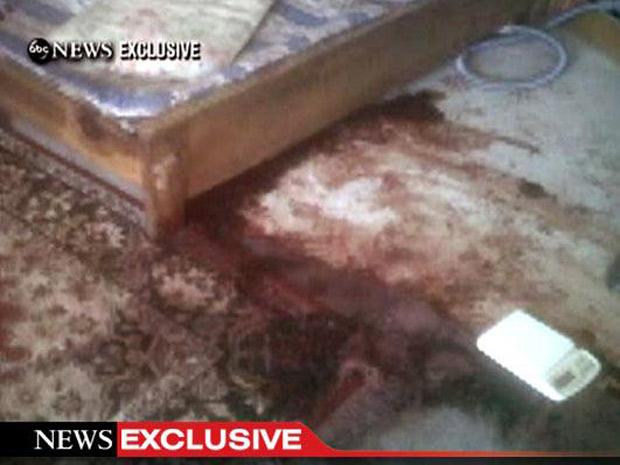 cama de bin laden (Foto: ABC News / Reuters)