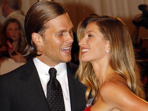 Tom Brady e Gisele Bündchen (Foto: Reuters)
