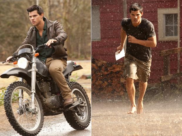 Imagens de Taylor Lauter como Jacob em Amanhecer (Foto: Divulgação)