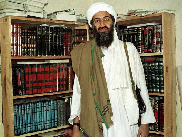 Osama no Afeganistão (Foto: AP)
