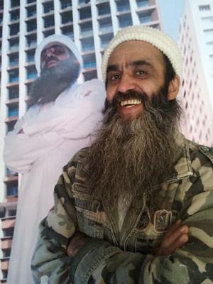 Sósia de Bin Laden disse que tirou a barba após ataque terrorista de 2001 (Foto: Glauco Araújo/G1)