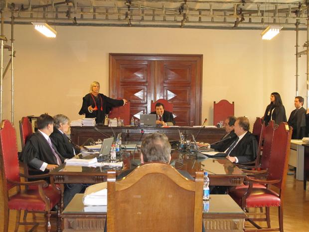 Os desembargadores da 4ª Câmara de Direito Criminal do Tribunal de Justiça de SP negou a anulação do julgamento do casal Alexandre Nardoni e Anna Carolina Jatobá (Foto: Juliana Cardilli/ G1)