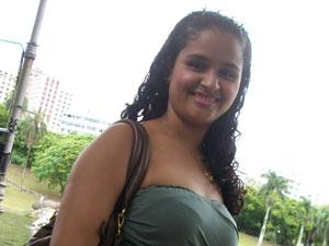 Lilia Fernanda mora no Rio (Foto: Lilia Fernanda Arouche Costa/VC no G1)